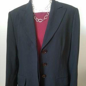Max Mara Black Jacket Size 14 or 12